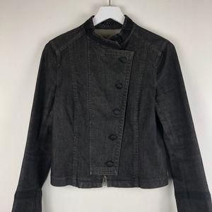 Theory Military Denim Jacket